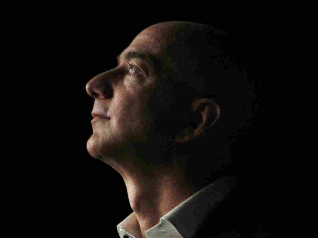 Jeff Bezos, CEO and founder of Amazon.