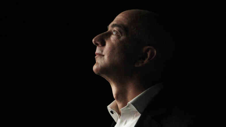 Jeff Bezos, CEO and founder of