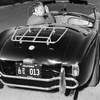 The real deal: California's new vintage car tag program would let drivers emulate icons of cool such as actor Steve McQueen, seen here in his Ford-Cobra roadster in 1963.