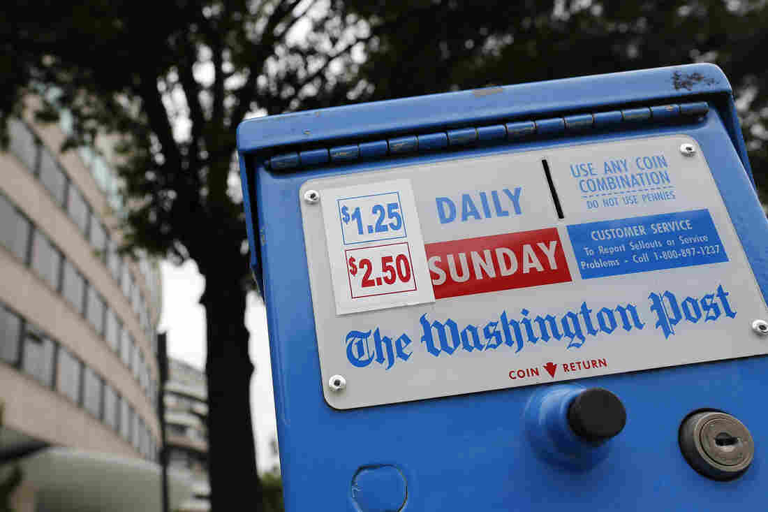 The Washington Post is now in its seventh straight year of declining revenues, says the paper's chairman, Donald Graham. Rather than continue to watch the paper struggle, Graham and Publisher Katharine Weymouth decided to look for a buyer.