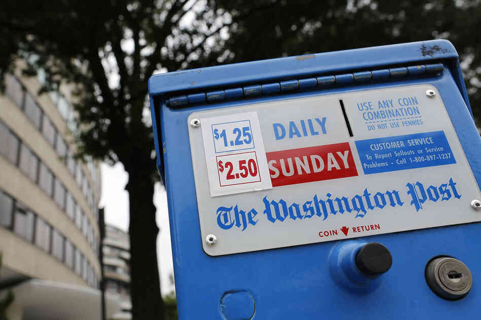 The Washington Post is now in its seventh straight year of declining revenues, says the paper's chairman, Donald Graham. Rat