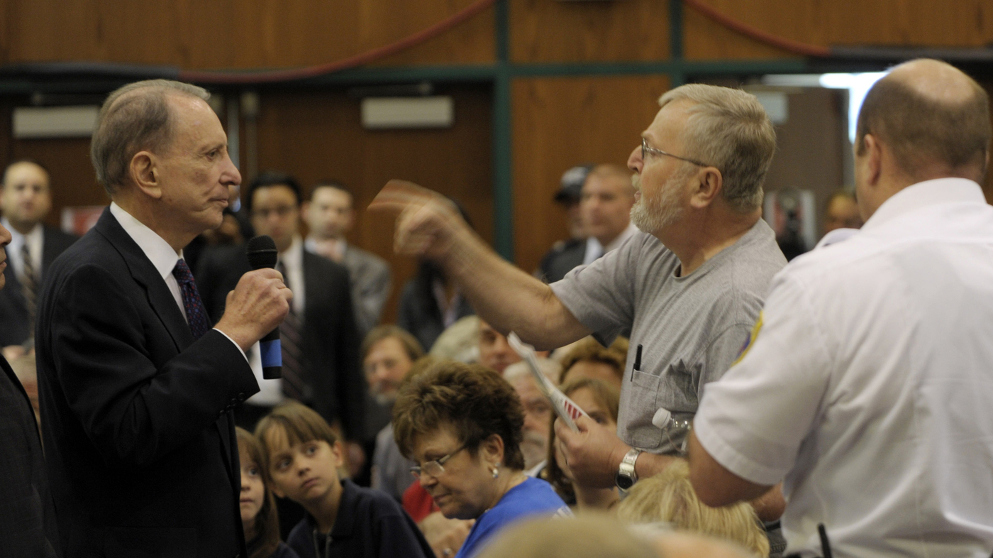 5 Memorable Moments When Town Hall Meetings Turned To Rage