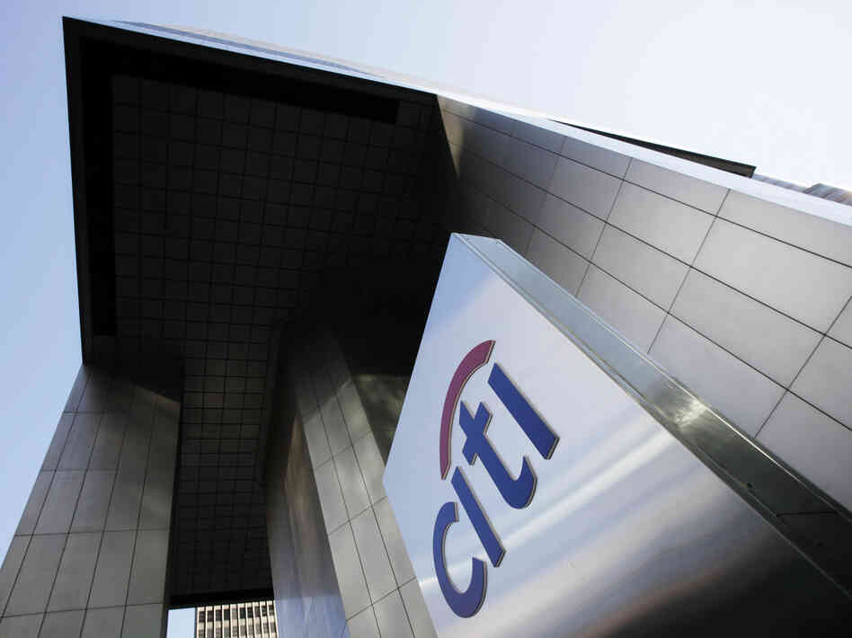 """It was extremely hard, though, to know how Citi was faring."""