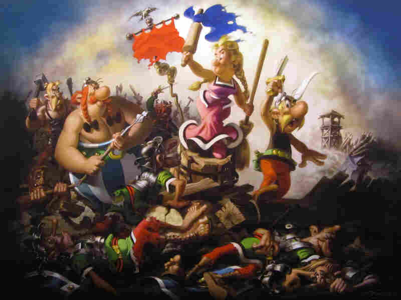 Vercingetorix's struggle is immortalized in the tales of beloved comic book characters Asterix and Obelix.