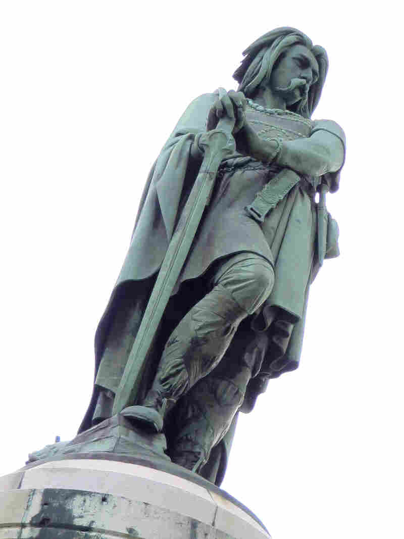 Vercingetorix, leader of the Gauls, is a national hero in France, where he is admired for his fight against invading Romans, despite his ultimate defeat.
