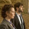Olivia Colman and David Tennant in Broadchurch.