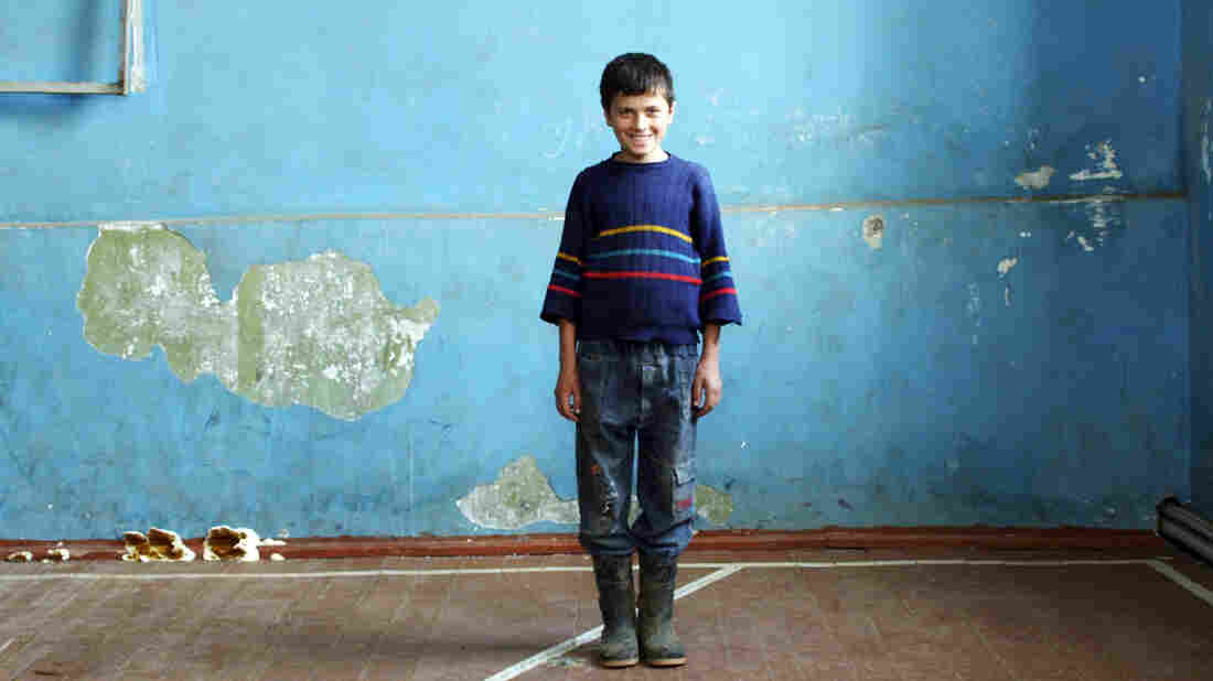 Ramin Iremadze, 13, is one of a dozen Georgians who responded to a filmmaker's call for young people with compelling stories to tell. His tale takes us to a rural mountain village, and deep within the culture of the former Soviet republic.