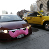 In cities across the nation, people are turning to ridesharing apps like Lyft — whose cars are adorned with pink mustaches — instead of traditional cab companies.