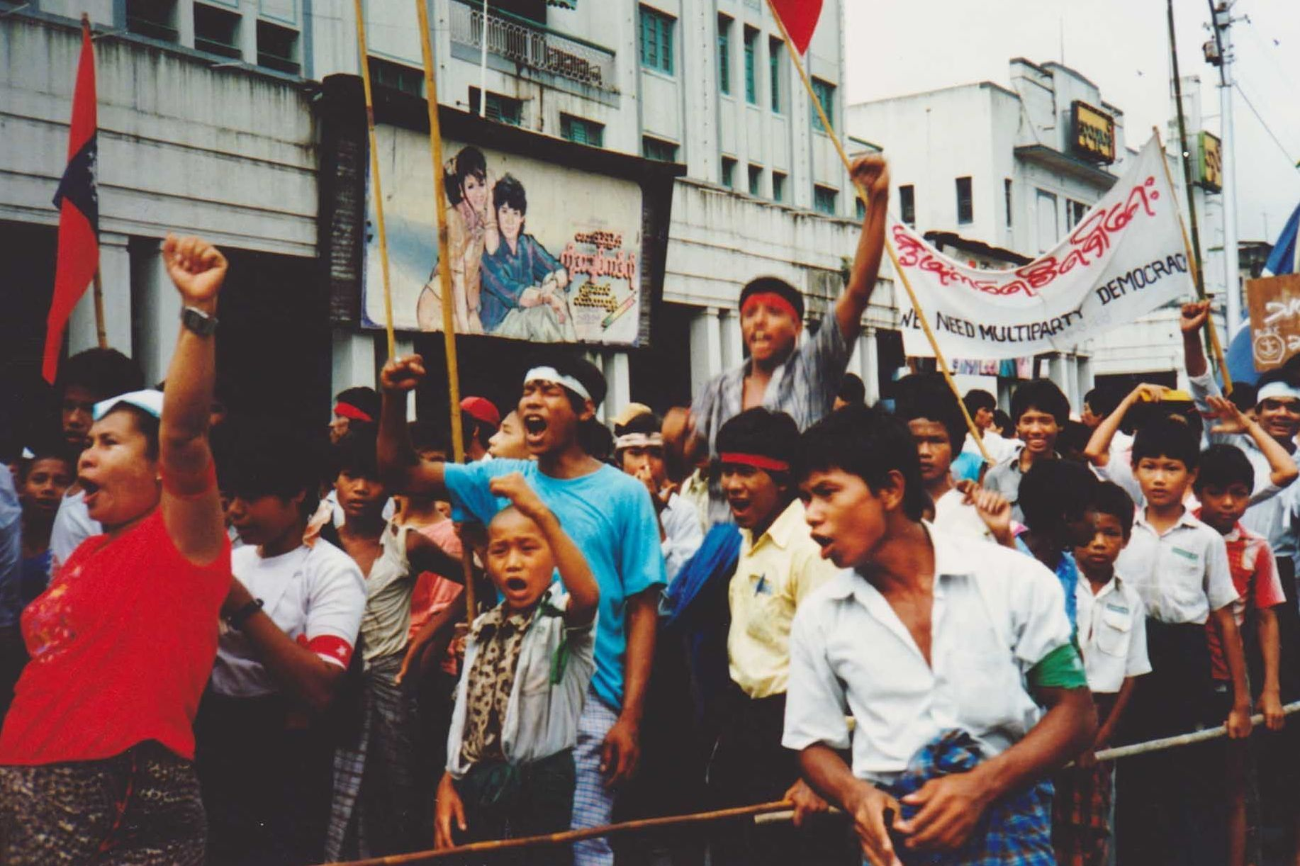 Timeline: Myanmar's '8/8/88' Uprising : NPR