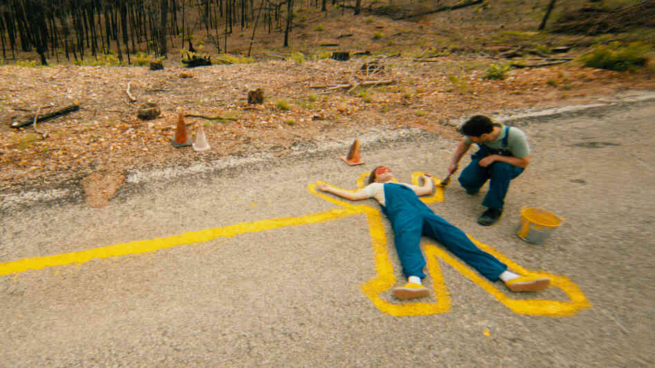 Tasked with repainting road stripes in a fire-ravaged rural Texas, the comfortably introverted Alvin (Paul Rudd, right) and the talkative but not-too-worldly Lance (Emile Hirsch) aren't the most natural allies — but in Prince Avalanche, they'll manage to connect at least a little.