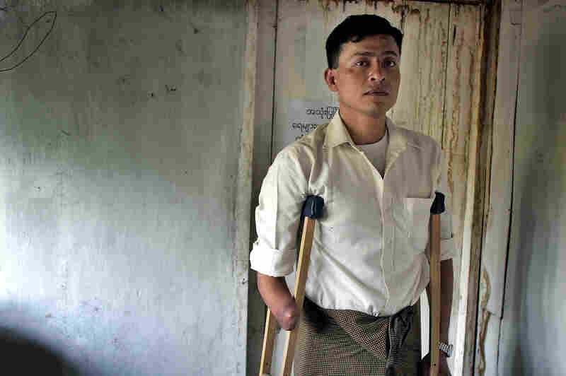 Myo Myint, a former Burmese soldier and 1988 activist, at the offices of the Assistance Association for Political Prisoners in Mae Sot, Thailand, in 2006. Initially, he had doubts about Suu Kyi when she joined the protest movement, but was moved by her first major speech that August.