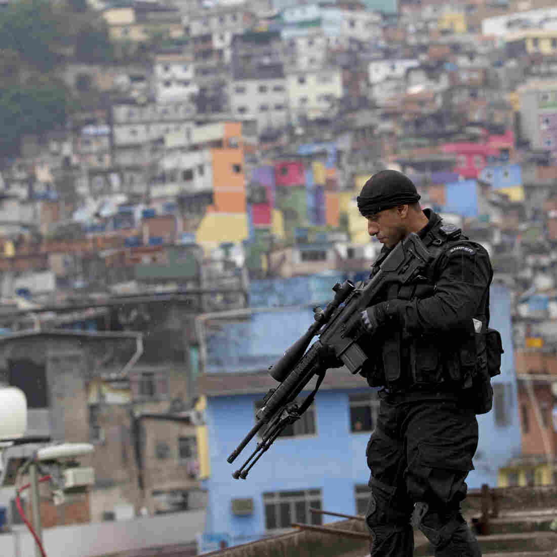 Unease In Sprawling Rio Slum Ahead Of Police 'Pacification'