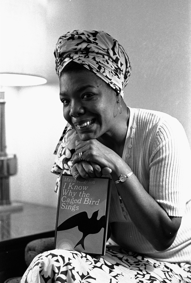 Angelou became Hollywood's first black female movie director on Nov. 3, 1971. She also wrote the script and music for Caged Bird, which was based on her best-selling 1969 autobiography. She had been a professional singer, dancer, writer, composer, poet, lecturer, editor and San Francisco streetcar conductor. (AP)