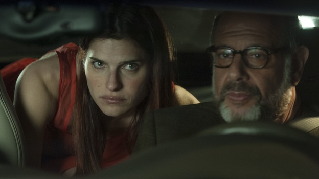 Both Lake Bell and Fred Melamed say they became interested in voice-over work because it didn't matter what you looked like. They play father and daughter voice-over artists in In a World ... ( Roadside Attractions)