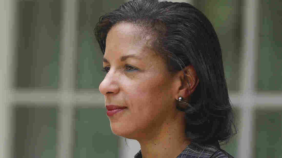 Susan Rice was the U.S. ambassador to the United Nations before taking over as President Obama's national security adviser.