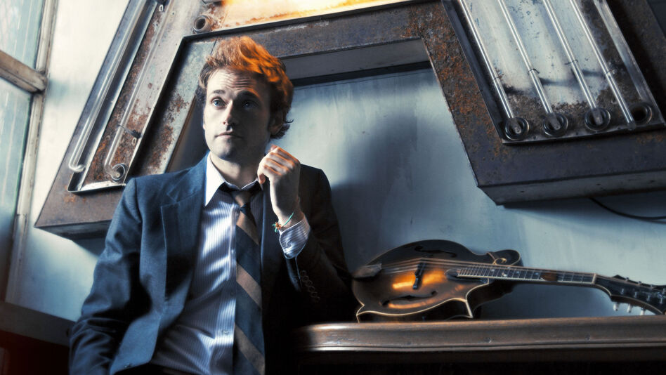 Chris Thile's new album, Sonatas and Partitas, draws from material written by Johann Sebastian Bach in the early 1700s. (Courtesy of the artist)