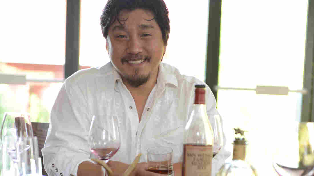 "On his website, chef Edward Lee is described as ""one part Southern soul, one part Asian spice, and one part New York attitude."""