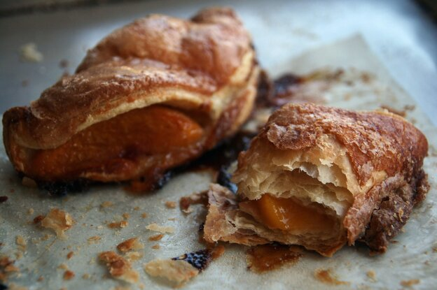 Baker Kim Boyce's hand pies can be filled with a variety of fruits, from apricots to blackberries. The fruit's natural sugars and juices caramelize while baking, concentrating the summer flavors.
