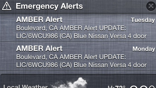 New Digital Amber Alerts Could Create A Backlash : All Tech