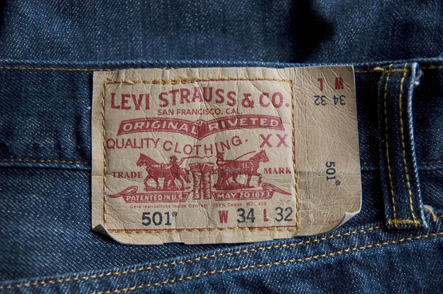 A Levi Strauss label.