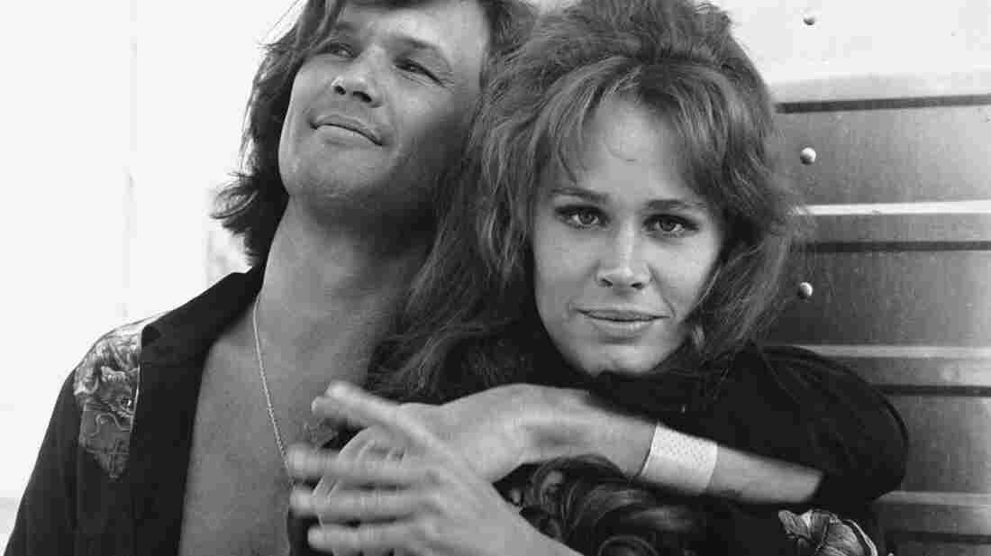 Karen Black and Kris Kristofferson were photographed together in 1972, when they co-starred in Cisco Pike, a saga of drug-ruined rockers and crooked cops.