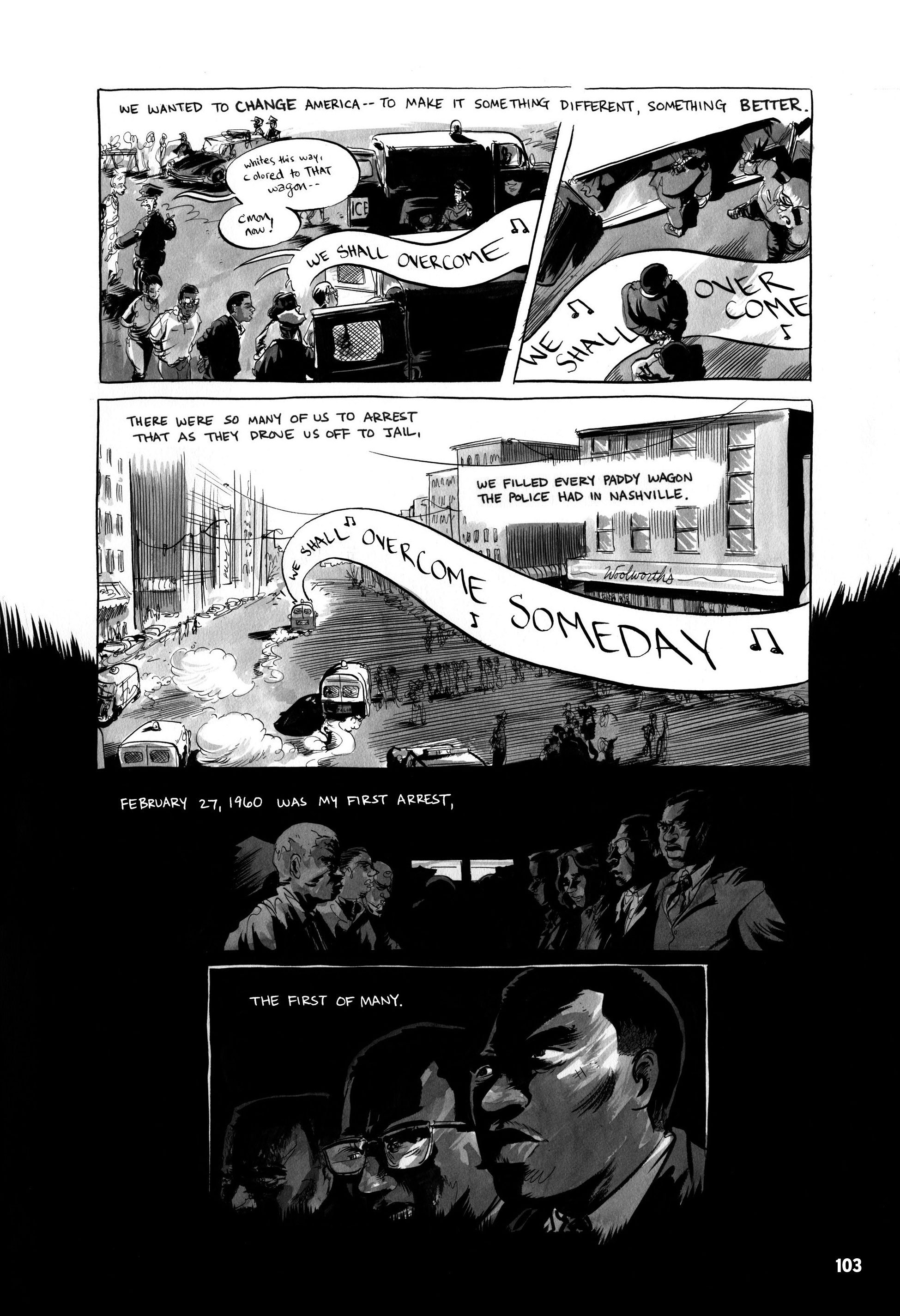 Its Not Just About Health Care >> John Lewis' 'March' Toward Justice Depicted In Graphic Novel : Code Switch : NPR