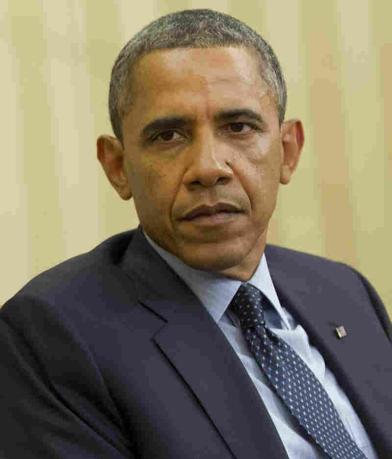 President Obama at the White House on Thursday.
