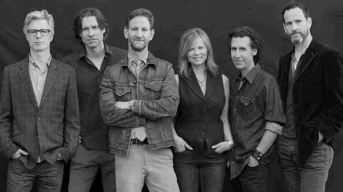 Mark Seliger (third from left), former chief photographer for Rolling Stone, also leads the country-rock ensemble Rusty Truck.