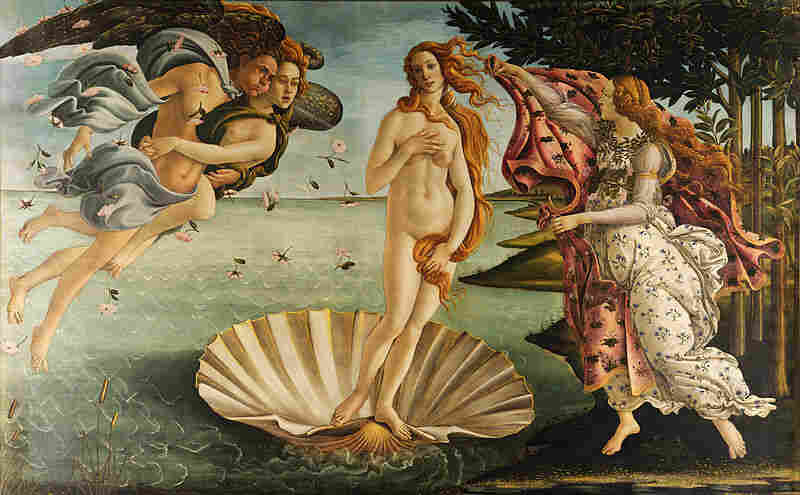 Even in Sandro Botticelli's painting The Birth of Venus, the goddess's belly resembles a plump, firm tortellino.