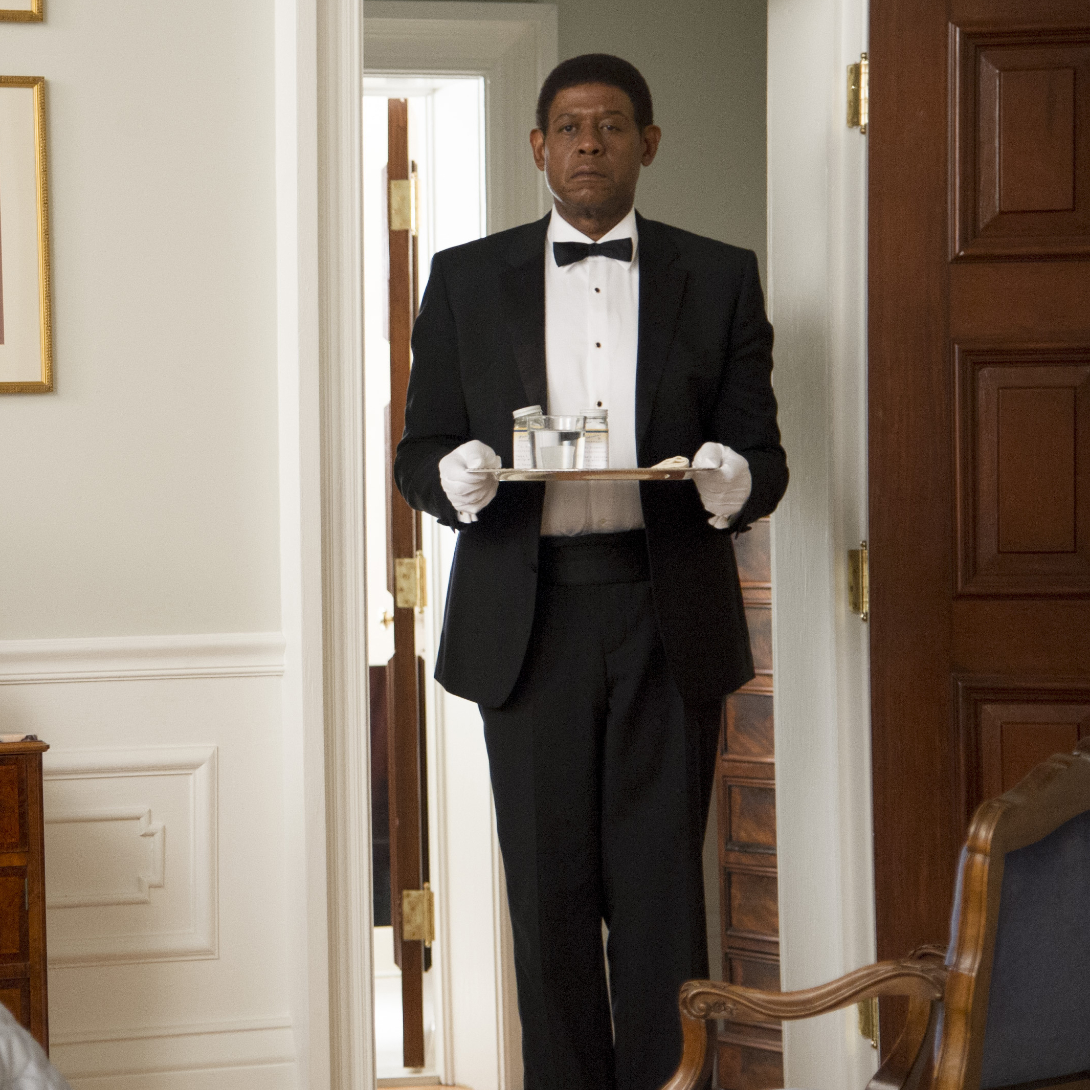The Butler is based on the life of a man who served eight presidents.