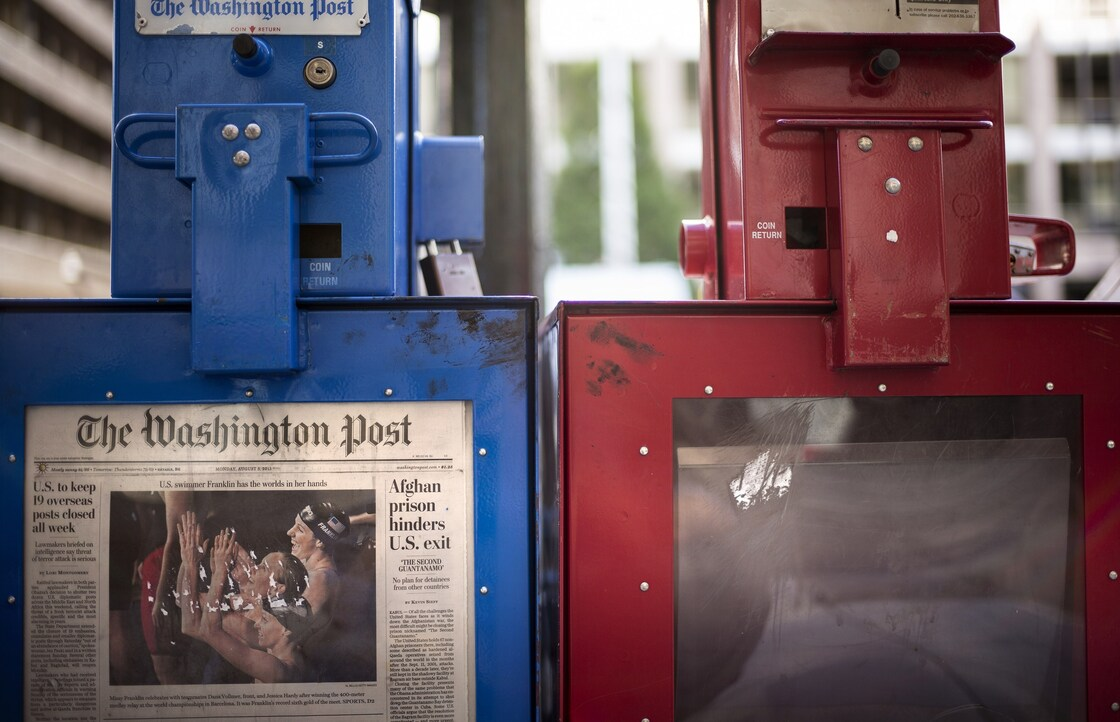 On Monday, the Washington Post Co. announced the sale of its newspaper to Amazon CEO Jeff Bezos, a move that comes as the paper struggles to keep up revenue.
