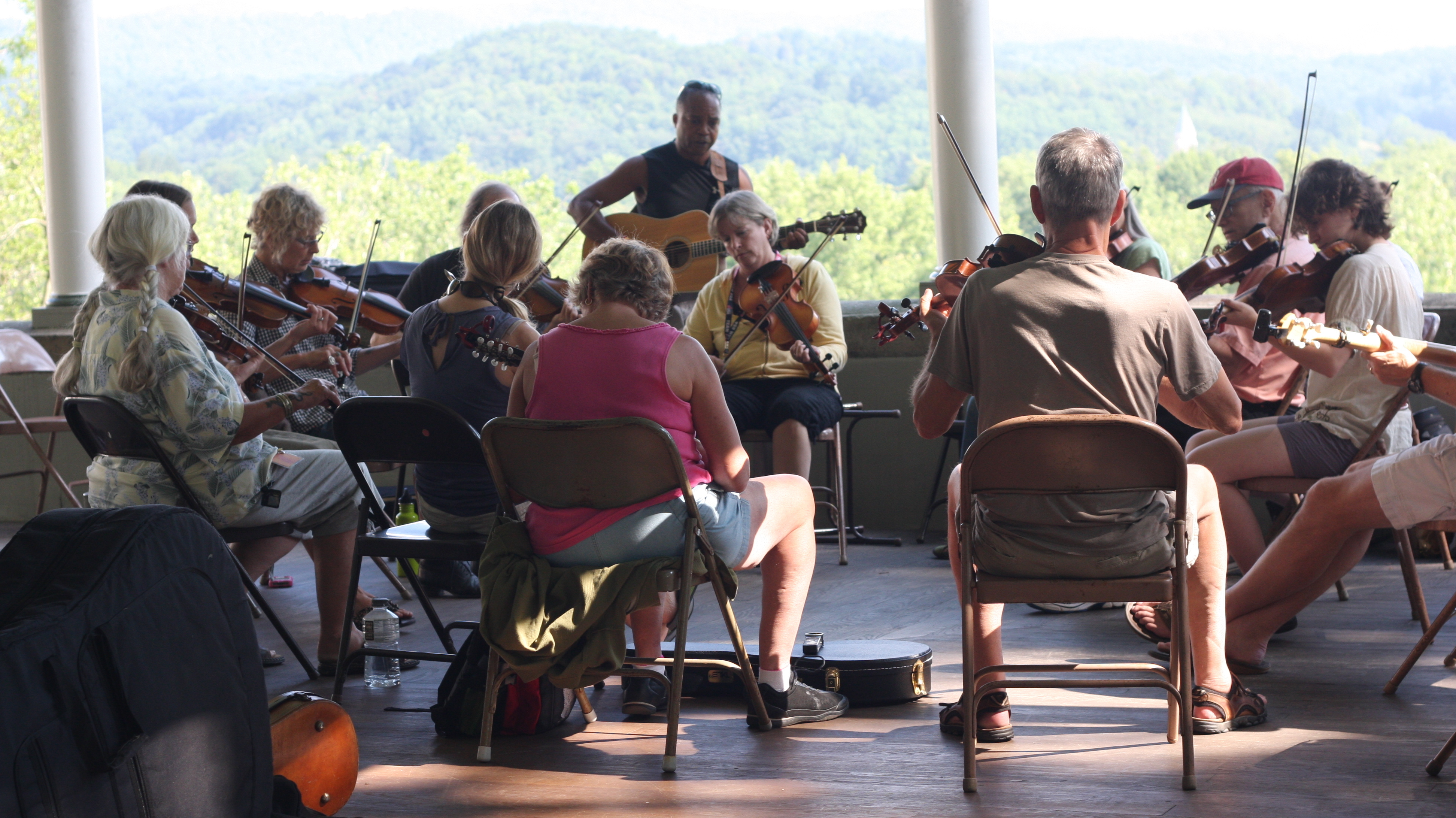 In West Virginia, A Band Camp Of Sorts Prizes Old-Time Music
