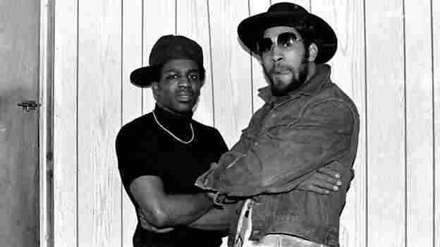 DJ Kool Herc (right, with DJ TonyTone) hosted a party in the South Bronx in 1973 that is credited with kick-starting hip-hop.