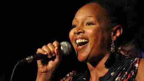 Shawana Kemp, lead singer for Shine and the Moonbeams.