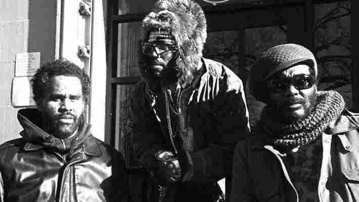 The White Mandingos are, from left, Sacha Jenkins, Murs and Darryl Jenifer.