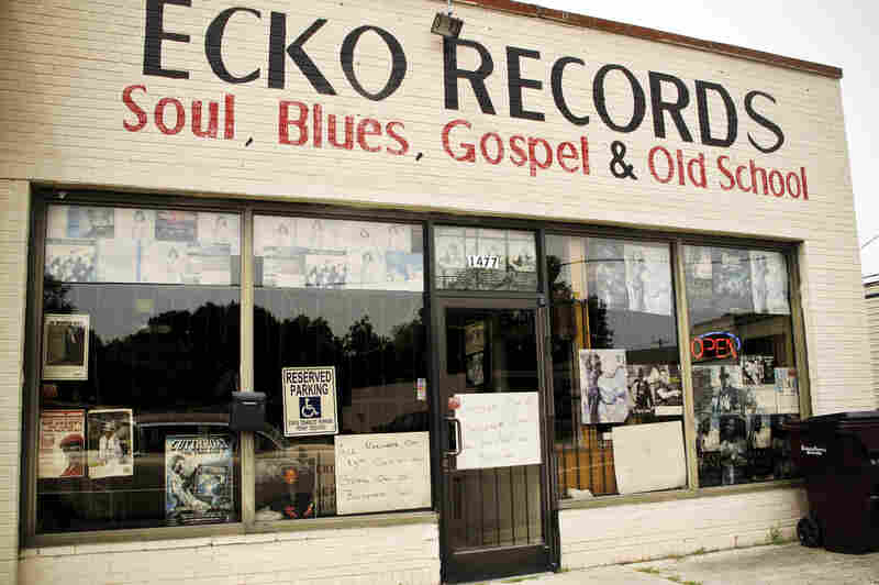 """Tad Pierson stops at a record store known for featuring local Memphis artists, but finds a """"going out of business"""" sign on the door. Pierson says the city's """"cultural collateral"""" is fading away."""