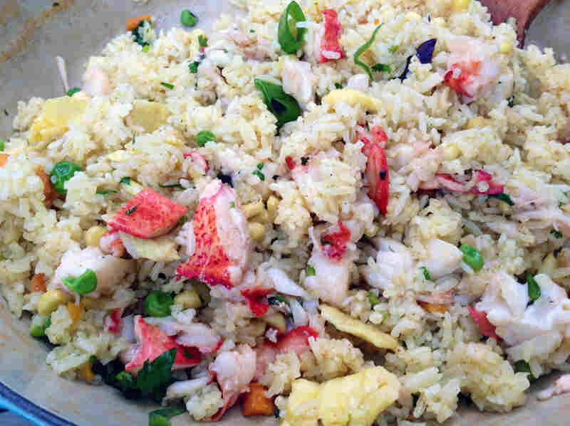 Leah's Fried Rice with Lobster