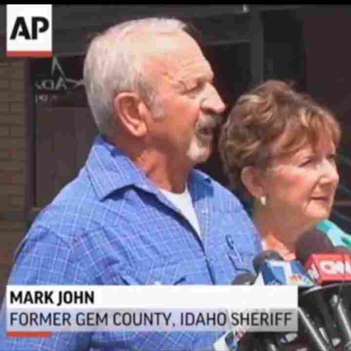 Mark John, the former sheriff who helped find Hannah Anderson.