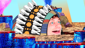 """Scene from Ra Ra Riot's latest video, for the song """"Binary Mind."""""""