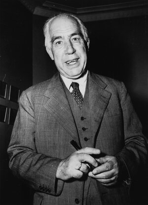 Niels Bohr in September 1953