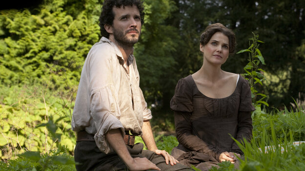 Keri Russell's Jane Hayes daydreams of the Regency life, complete with suitors as handsome and rough-hewn as Bret McKenzie's Martin, in Austenland, a big-screen adaptation of the Shannon Hale novel.