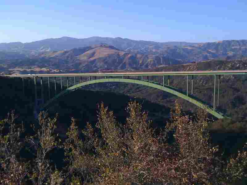 The Cold Spring Canyon Arch Bridge is the highest arch bridge in California, and has been the site of dozens of suicides.