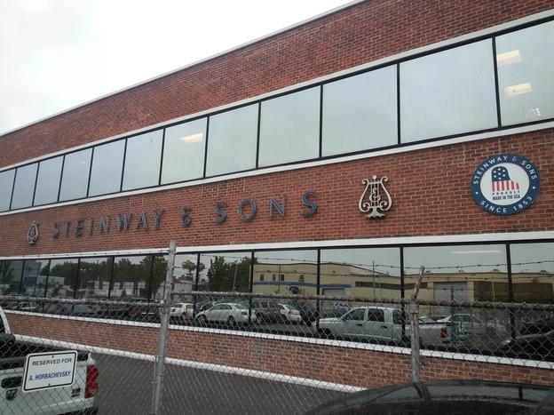 The Steinway Musical Instruments factory in Queens, N.Y.