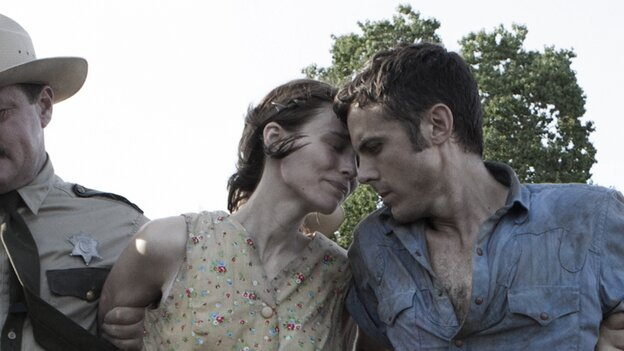 The broken, parted: Rooney Mara and Casey Affleck are a couple separated by a robbery gone wrong in David Lowery's aching Ain't Them Bodies Saints.