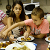 At the Te'amim — or Tastes — cooking camp in Jerusalem, kids learn how to make kubbeh hamusta, a popular regional dumpling from Kurdistan.