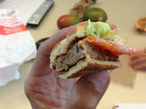 Burger King's veggie burger is among the many meat sub