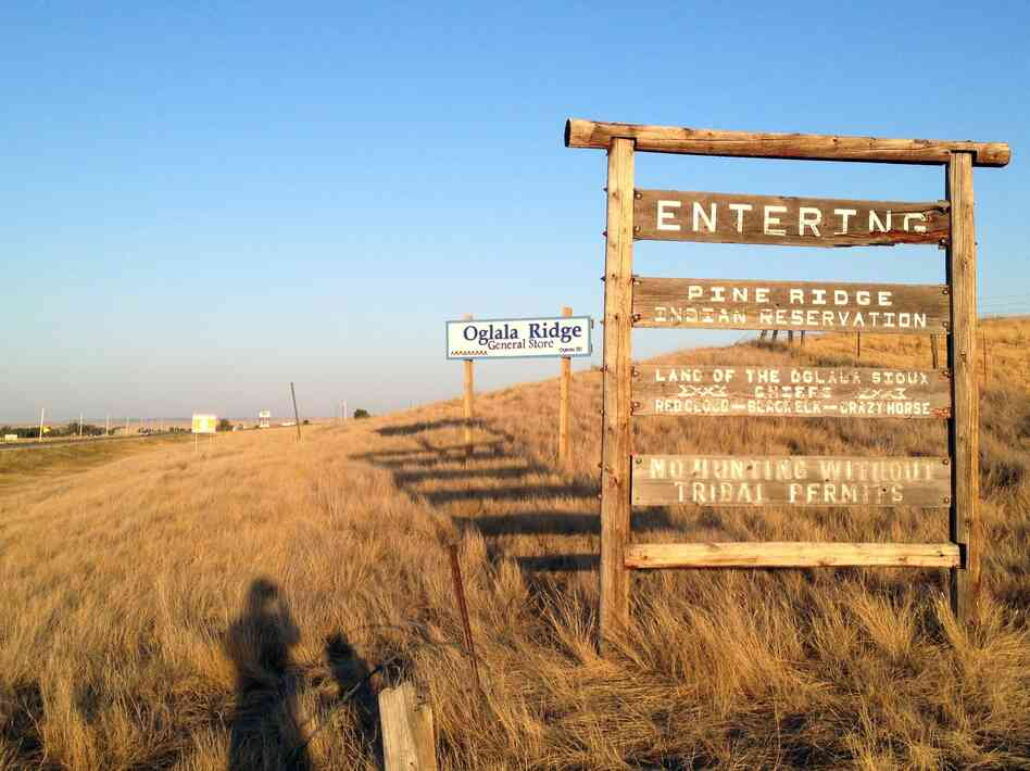 The Pine Ridge Indian Reservation is home to the Oglala Sioux Tribe.