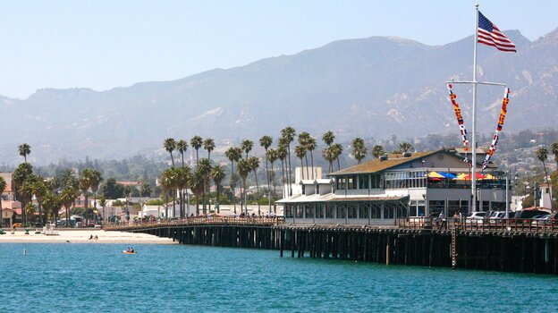 Santa Barbara is a picturesque city on the coast of Southern California. Author Sue Grafton says the city's sunny climate and charming architecture make it the perfect setting for murder.