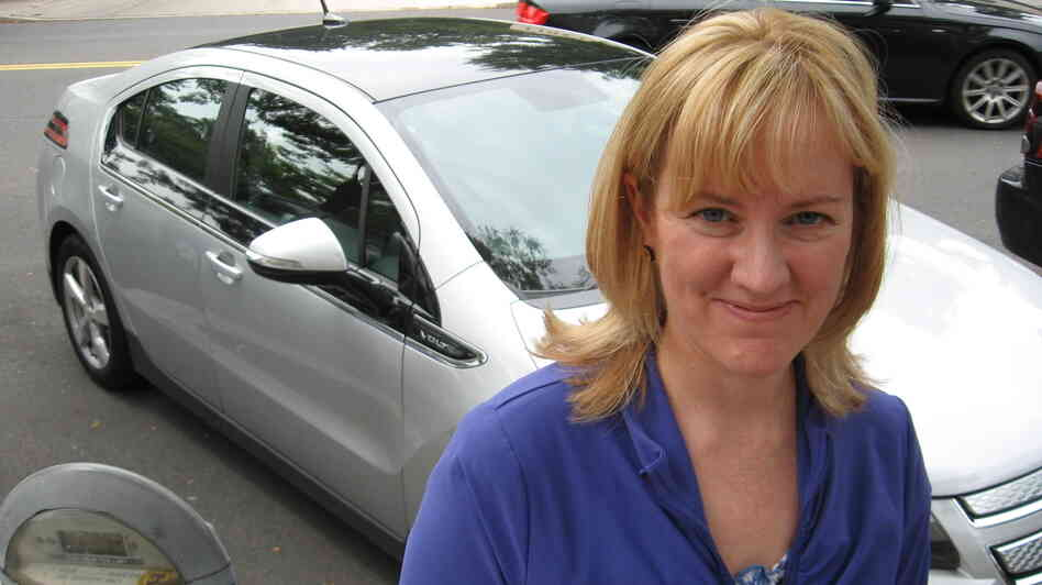 Sara Busch of Havertown, Pa., owns a Chevy Volt, an