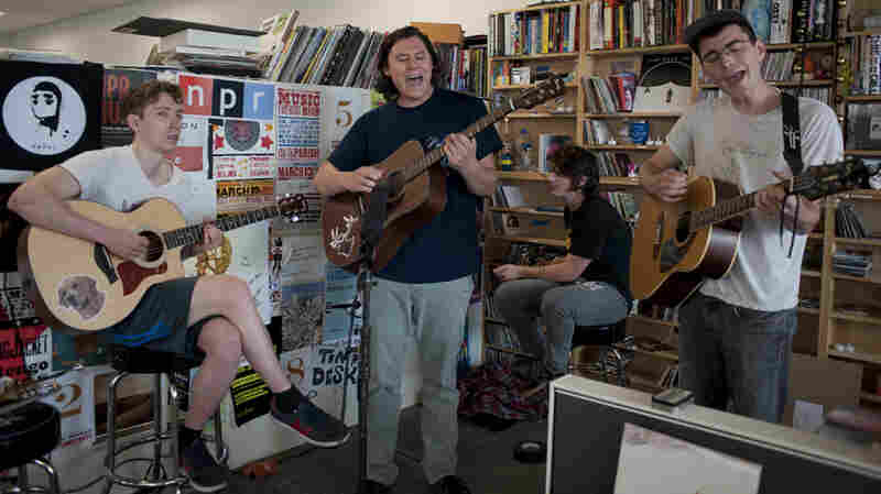 The Front Bottoms: Tiny Desk Concert